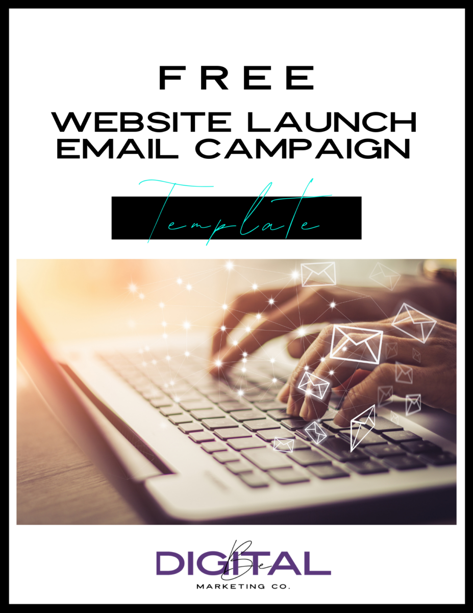 EMAIL TEMPLATE FOR WEBSITE LAUNCH